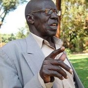 Mzee Joab Balitta, retired from University Service after 49 years of service (1955-2004) as Senior Foreman-Carpentry, Estates and Works Department, Makerere University, Kampala Uganda.