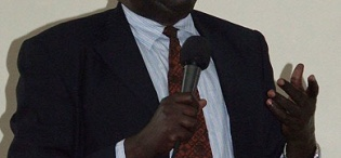 Prof. Ikoja-Odongo represented the Ag. Vice Chancellor Prof. V. Baryamureeba at Amb. Demetrios J. Marantis' Public Lecture on US-Sub-Saharan Africa Trade in the 21st Century, 16th February 2012, Makerere University, Kampala Uganda