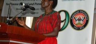 Ms. Milly Katana, National & International HIV activist, was on the oponents' bench at the Public Debate on 23rd August 2012, Imperial Royale Hotel, Kampala Uganda
