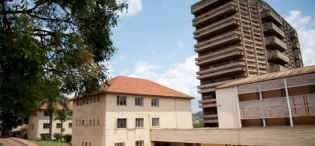 Mary Stuart Hall, Makerere University, Kampala Uganda in 2011