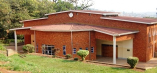 Rear View of the St. Francis Community Centre, Dedicated on 9th January 2005 by the Most Rev. Henry Luke Orombi, Makerere University, Kampala Uganda