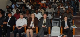 A wider part of the audience that attended the Deputy Secretary's Public Lecture on US Foreign Policy in Africa, 4th February 2011, Makererere University, Kampala Uganda