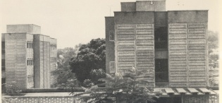 Africa Hall, A ladies' only Hall of residence at Makerere Univeristy, Kampala Uganda