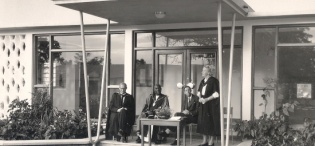 The Official opening of the Botany Building, Makerere University, Kampala uganda in September 1959