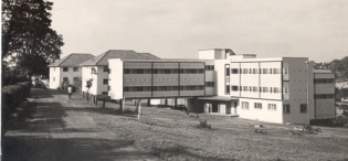 Mary Stuart Hall, Makerere University, Kampala Uganda in 1959