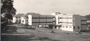 Mary Stuart Hall, Makerere University, Kampala Uganda in 1959
