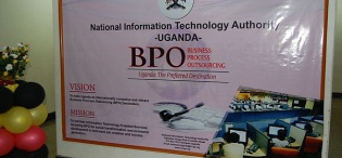 The National Business Process Outsourcing (BPO) Training Programme was launched on 17th January 2011 at Makerere University, Kampala Uganda