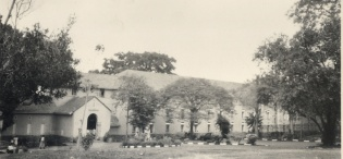 Nkrumah Hall, a male residents' Hall at Makerere University, Kampala Uganda