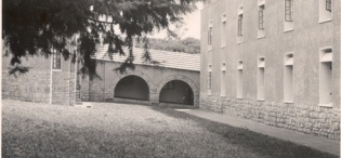 Northcote Hall, Makerere University, Kampala Uganda in 1952